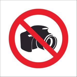 Bilde av Fotografering forbudt symbol