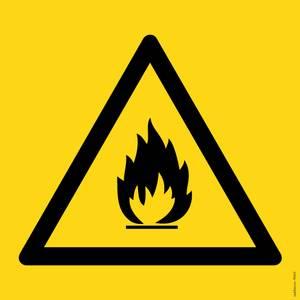 Bilde av Brannfarlige stoffer symbol