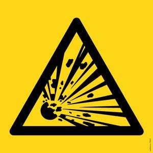 Bilde av Eksplosjonsfarlige stoffer symbol