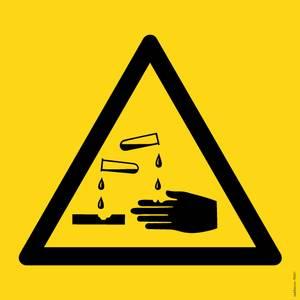 Bilde av Etsende stoffer symbol