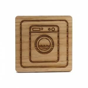 Bilde av Wood Vaskemaskin skilt