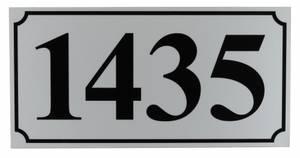 Bilde av Husnummer 4-tall i Refleks
