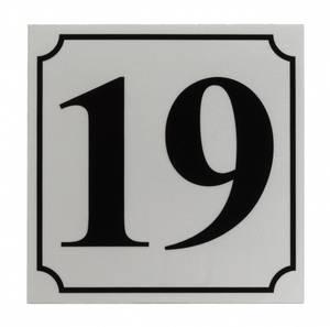 Bilde av Husnummer 2-tall i Refleks