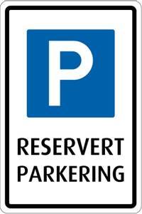 Bilde av 827 Reservert parkering