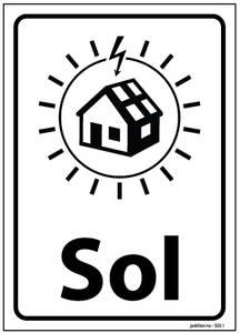 Bilde av SOL Solcelleskilt A6