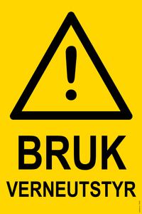 Bilde av Bruk verneutstyr