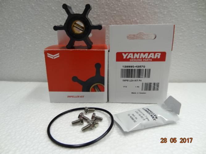 Bilde av Impeller kit m/pakning+skruer (m/pinne)