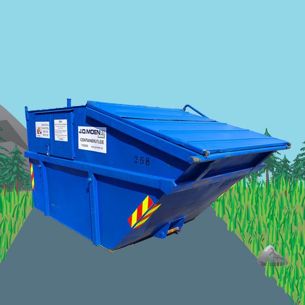 Bilde av Container 10m³ Lukket 1 Uke