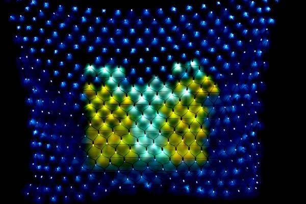 Bilde av *UTSOLGT* 3X2M Lysnett IP44 Smart LED multifarge og animasjon m/