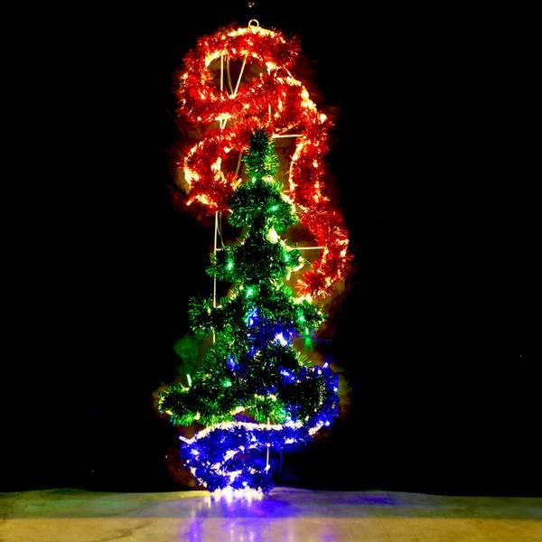 Bilde av Juletre med ribbons 125x55 cm