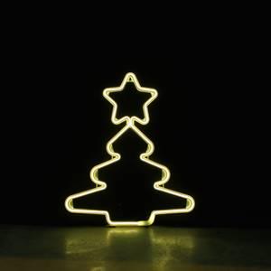 Bilde av Juletre neon varmhvit 52x43 cm