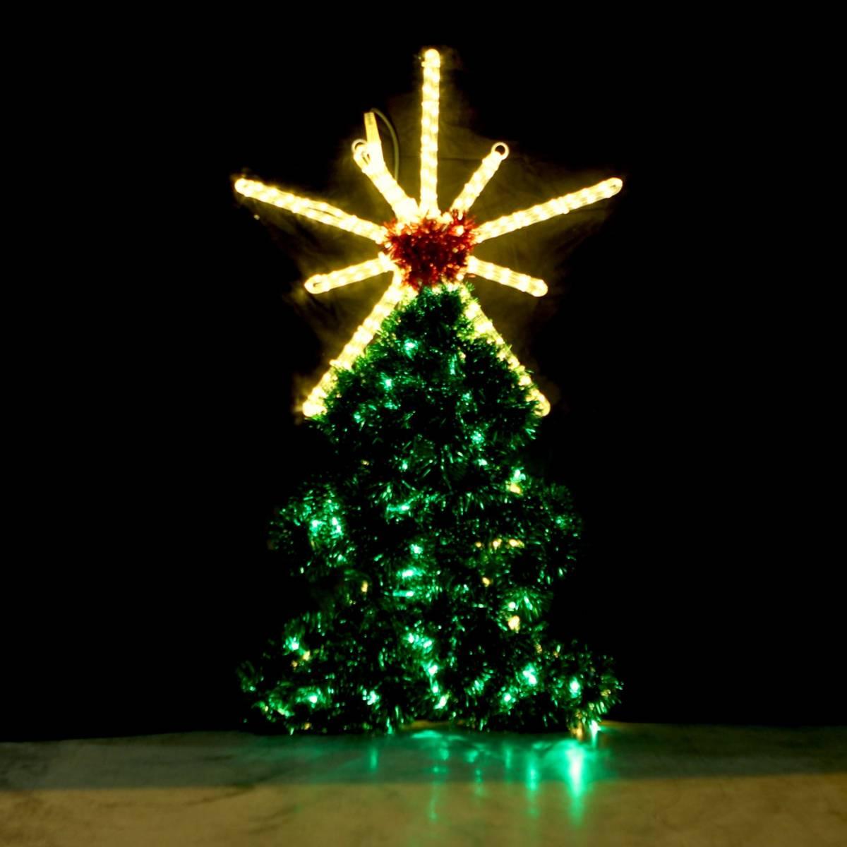 Juletre med stjerne 110x63 cm