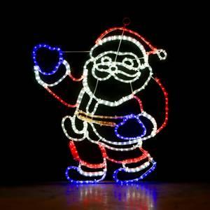 Bilde av Julenisse helfigur 88,5x79 cm
