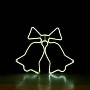 Bilde av Bjelle neon kaldhvit 62x51 cm