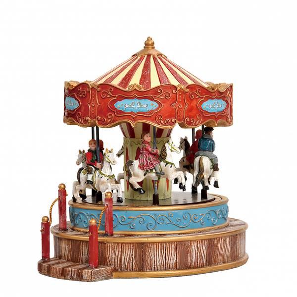 Bilde av Vintage karusell - juleby Luville