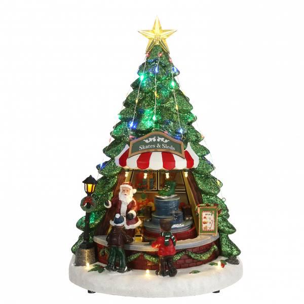 Bilde av Skøytebod julemarked - juleby Luville