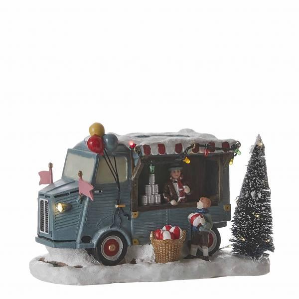 Bilde av Julemarked tivolibod ballkast - juleby Luville