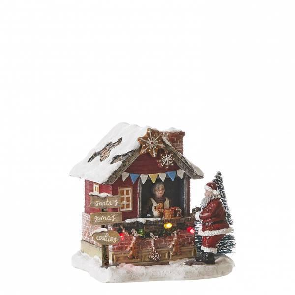 Bilde av Julemarked kakebod - juleby Luville