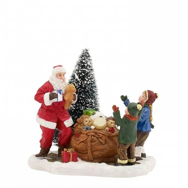 Bilde av Gaver fra julenissen - juleby