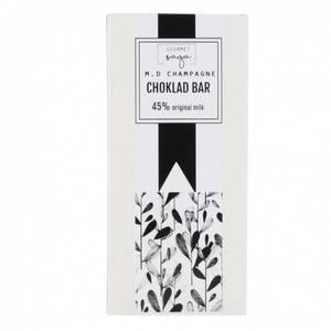 Bilde av Milk Chocolate Bar Marc de Champagne 45%