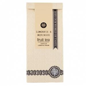 Bilde av Frukt te, Lemonpie with meringue, taste of lemon