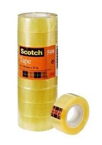 Bilde av Tape 15mmx33m Klar tårn (10)  Scotch