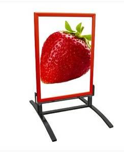 Bilde av Gatebukk Windline 70x100 cm rød