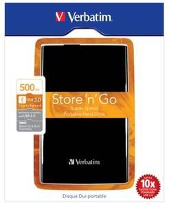 Bilde av Harddisk 500GB 2,5'' Store 'N' Go USB 3.0