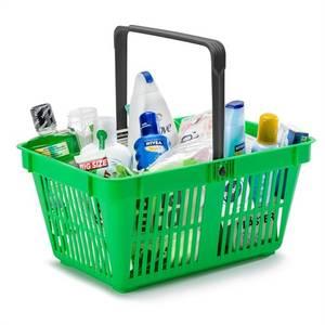 Bilde av Handlekurv grønn 20 liter 25 stk.