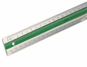 Bilde av Linjal 20cm S20MM Grønn Linex