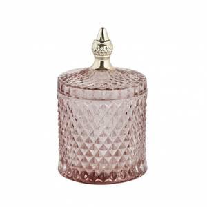 Bilde av Miya glasskrukke rosa H 18cm