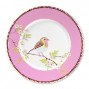 Bilde av Asjett Pip Frokost Rosa 21cm.
