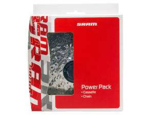 Bilde av SRAM Power Pack PG-850 cassette/PC-830 chain 8