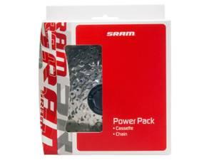 Bilde av SRAM Power Pack PG-730 cassette/PC-830 chain 7
