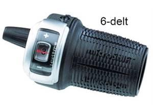 Bilde av Microshift Girsjalter m/Display 6 speed
