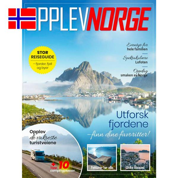 Bilde av Opplev Norge - ditt nærmeste ferieland