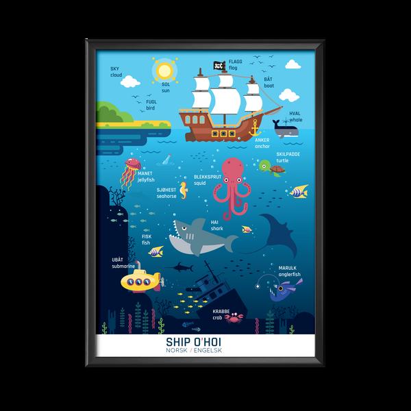 Bilde av Ship O'Hoi plakat