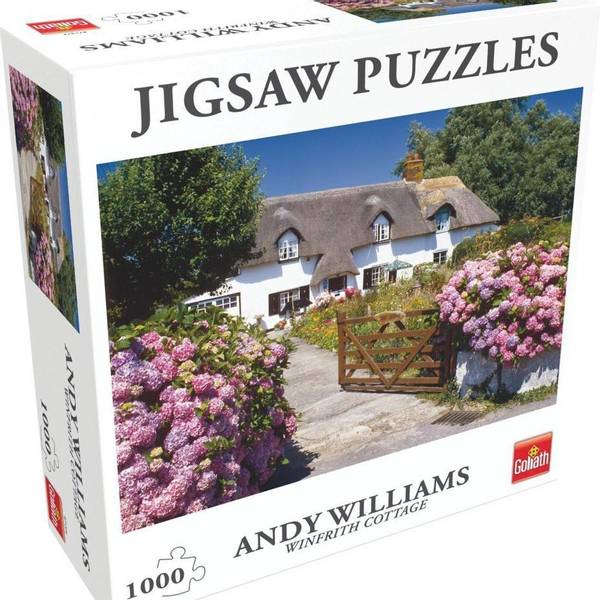 Bilde av Jigsaw Puzzles Andy Williams Winfrith cottage