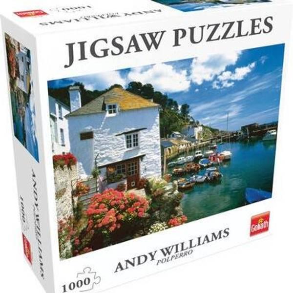 Bilde av Jigsaw Puzzles Andy Williams Polperro