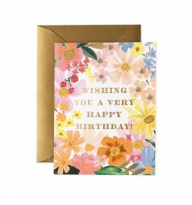 Bilde av Marguerite Birthday kort Rifle Paper Co