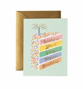 Bilde av Cake Slice Birthday kort Rifle Paper Co