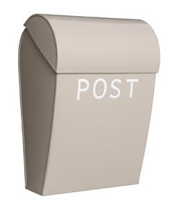 Bilde av Bruka Postkasse sand/hvit stor