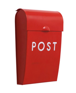 Bilde av Bruka Postkasse mini rød/hvit