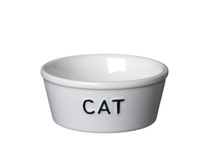 Bilde av Bruka Matskål CAT hvit/svart