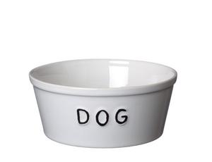 Bilde av Bruka Matskål DOG stor hvit/svart