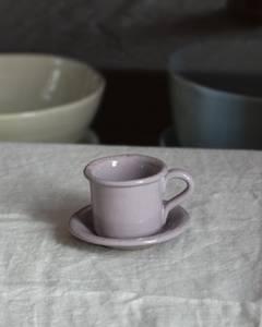 Bilde av Casagent Espressokopp med tefat malva