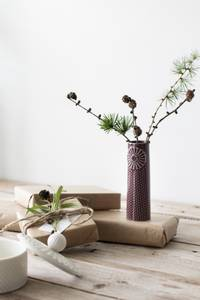 Bilde av Dottir Pipanella Dot Mini aubergine vase