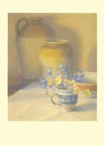 Bilde av Spring Flowers & Pots kort - Two Bad Mice
