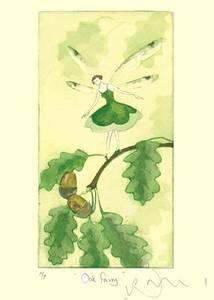 Bilde av Oak Fairy kort - Two Bad Mice