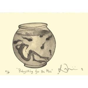 Bilde av Babysitting for the Mrs kort - Two Bad Mice